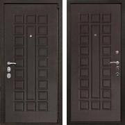 Металлическая взломостойкая  дверь (в квартиру) New Line М-4А Mottura Венге