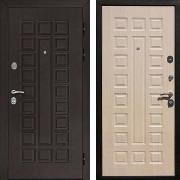 Входная дверь (в квартиру) New Line Гладиатор CISA Беленый дуб