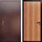 Металлическая дверь ДМ - Супер Эконом Миланский Орех