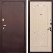 Входная металлическая дверь (в квартиру) New Line М-1А Беленый дуб