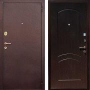 Входная металлическая дверь (в квартиру) New Line М-1А Венге