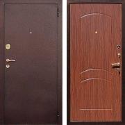 Входная металлическая дверь (в квартиру) New Line М-1А Орех