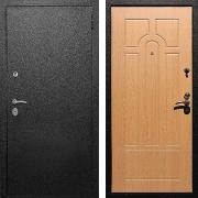 Входная металлическая дверь (в квартиру) New Line Верона 6 Дуб светлый