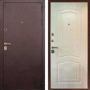 Металлическая дверь ДМ - Лайт 3 Беленый Дуб