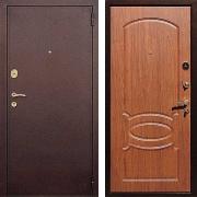 Входная стальная дверь (в квартиру) New Line М-2 Орех