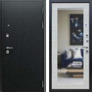 Входная металлическая дверь с зеркалом (в квартиру или дом) New Line А-312