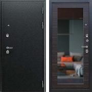 Входная металлическая дверь с зеркалом (в квартиру или дом) New Line А-313