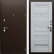 Толстая 105 мм металлическая дверь (в квартиру или дом) New Line А-318