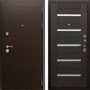Толстая 105 мм металлическая дверь (в квартиру или дом) New Line А-317