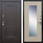 Шумоизоляционная дверь с зеркалом (в квартиру) New Line А-333
