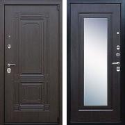 Шумоизоляционная дверь с зеркалом (в квартиру) New Line А-334