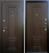 Дверь Техно 3 Грецкий Орех
