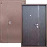 Металлическая дверь двупольная (техническая) New Line S-235