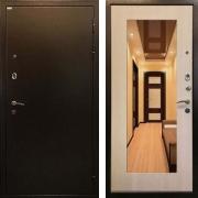Металлическая дверь (в квартиру с зеркалом) New Line R-227